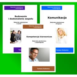 Zestaw 3 ebooki: Komunikacja + Budowanie zespołu + Kierowanie