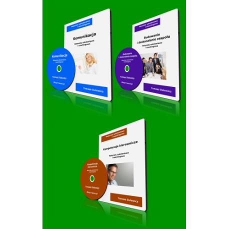 Komunikacja + Budowanie zespołu + Kierowanie (DVD)